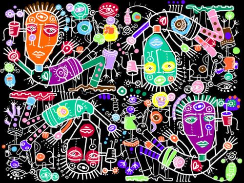 Zinético: Ilustraciones y divertimentos | Algunas Plantas Raras